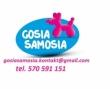 LOGO - Gosia Samosia - opieka nad dziećmi podczas wesela - Reda