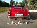 Zdjęcie 2 - VW KARMANN GHIA auto do ślubu - Zielonka