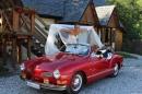 Zdjęcie 4 - VW KARMANN GHIA auto do ślubu - Zielonka